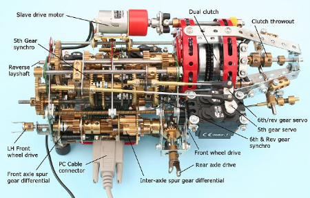 DSG GEARBOX EXPLODED VIEW-601
